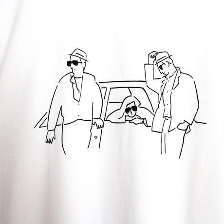 T-shirt Stranger - White -