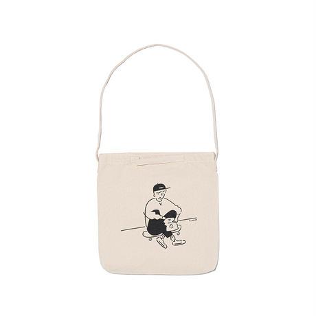 """2WAY Tote bag """"Yu Nagaba x  Calbee 2"""""""