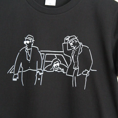 T-shirt Stranger - Black -
