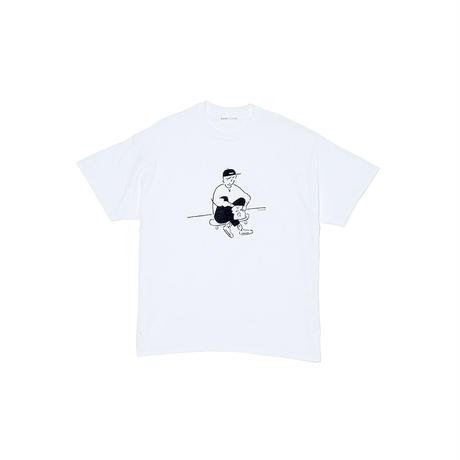 """T-shirt """"Yu Nagaba x Calbee 2"""" White"""