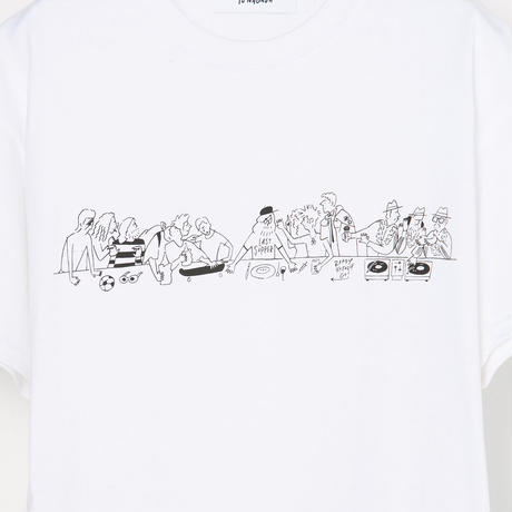 """T-shirt """"The Last Supper"""" White"""