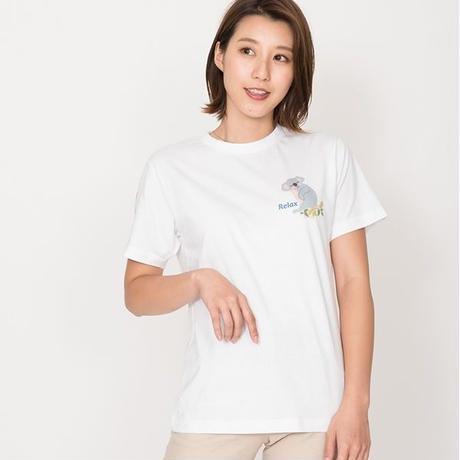 リラックスコアのTシャツ ホワイト