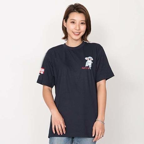 ハリーアップコアのTシャツ マリン