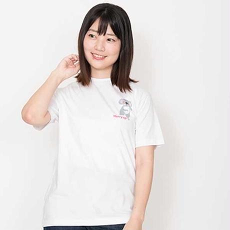 ハリーアップコアのTシャツ ホワイト