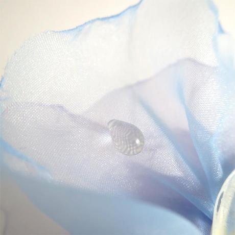 天然アロマキャンドル ー 雫 ー(ブルー) M(150ml)