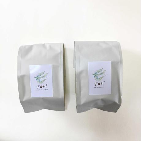 【ギフトセット】オリジナルコーヒー缶 + コーヒー豆2種