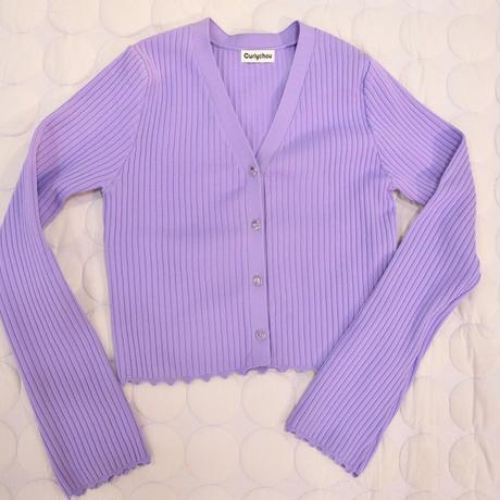 Cardigan (Purple)