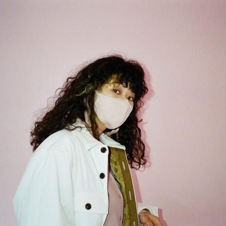 Face Mask (Pink Dots)