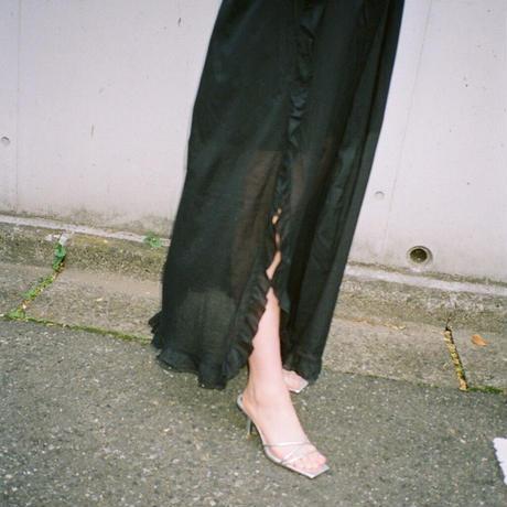 Slit Dress(Black)