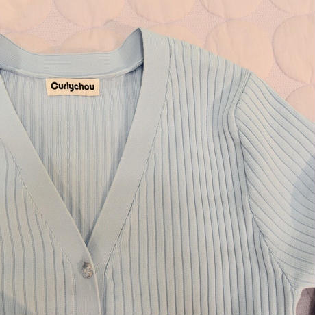 Cardigan (Blue)