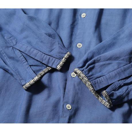 【CNLZ× L'ÉCHOPPE】BOTANICAL DRESS SHIRT7/レショップ × シーエヌエルゼット ボタニカルシャツ