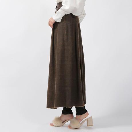 【CNLZ】High Waist Wrapped Skirt Ⅰ / シーエヌエルゼット ハイウエストラップスカートⅠ