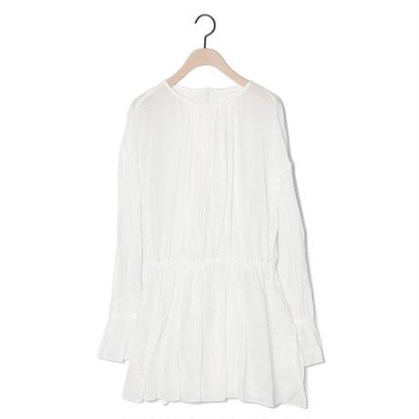 【CNLZ】Lace-Up Shirt/シーエヌエルゼット レースアップシャツ