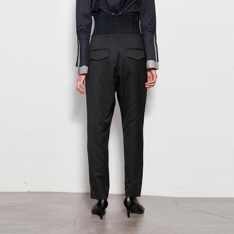 【CNLZ】High Waist Pants / シーエヌエルゼット ハイウエストパンツ