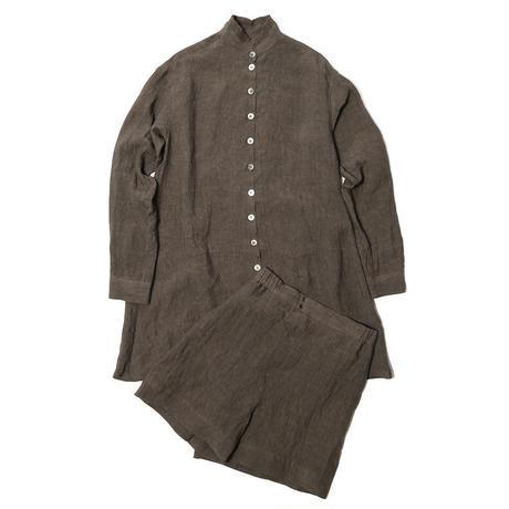 【CNLZ】Linen Shirt / シーエヌエルゼット リネンシャツ