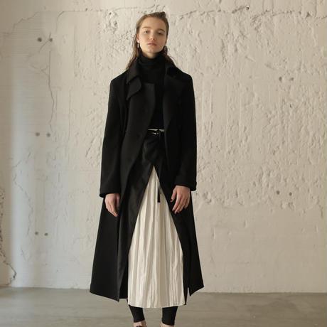 【CNLZ】Long Jersey P-Coat/シーエヌエルゼット ロングジャージー ピーコート