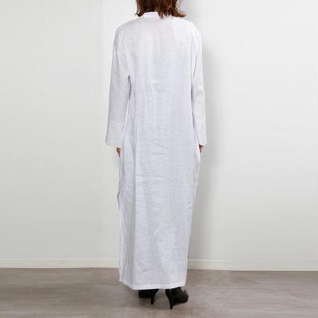 【CNLZ】Kaftan Dress Pure/ シーエヌエルゼット カフタンドレス