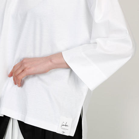 【CNLZ】Wide Sleeve Tee / シーエヌエルゼット ワイドスリーブTシャツ