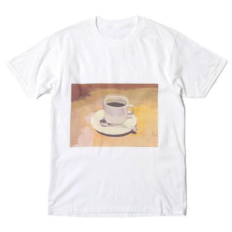 【Mai Kurosaka×CNLZ】黒坂麻衣 コラボ  珈琲カップTシャツ トートバッグ付き