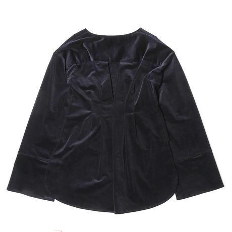 【SARA YOSHIDA×CNLZ】V Shirt EMBI 吉田沙良デザイン 燕尾型シャツ