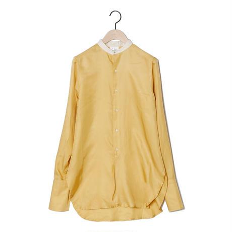 【CNLZ】Silky Shirt/シーエヌエルゼット シルキーシャツ