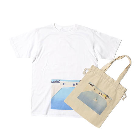 【Mai Kurosaka×CNLZ】黒坂麻衣 コラボ  Pool Tシャツ トートバッグ付き