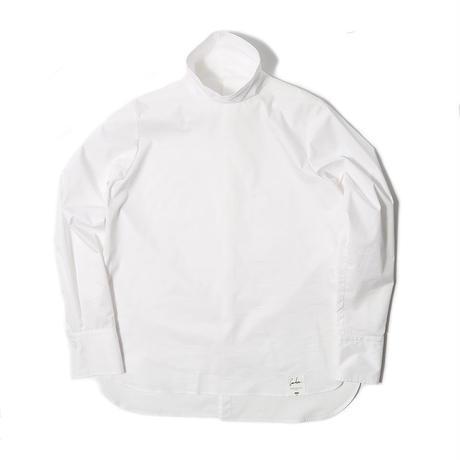 【CNLZ】High Neck Shirt / シーエヌエルゼット ハイネックシャツ