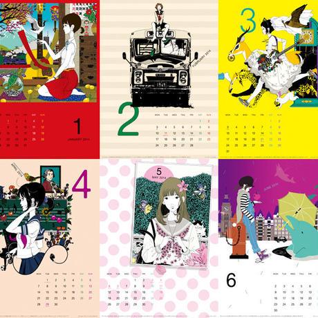 ★中村佑介カレンダー2014★ サイン入り