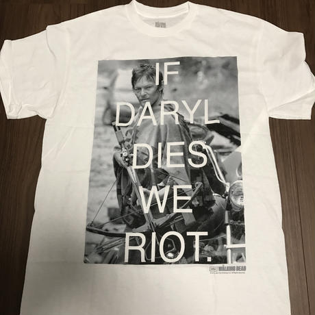 THE WALKING DEAD   DARYL RIOT  Tシャツ