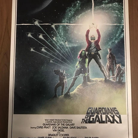 GUARDIANS OF THE GALAXY オーマジュポスター