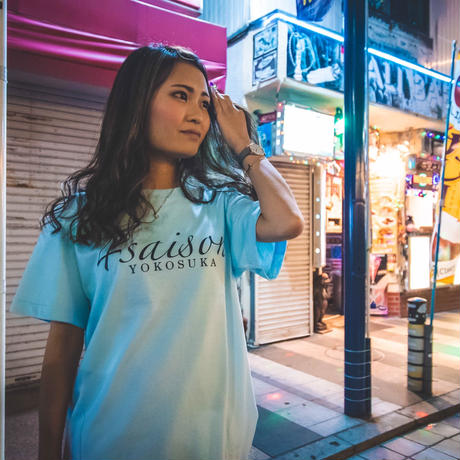 4saison yokosuka tee (Light blue)