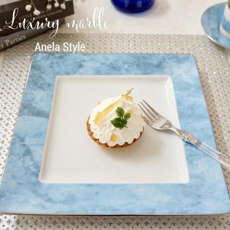Luxury marble(ブルー)