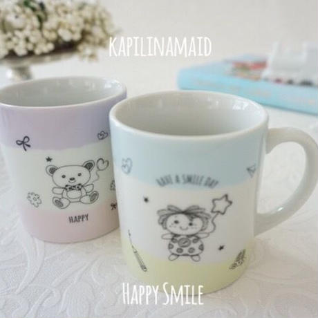 【kapilinamaid 転写紙】Happy Smile