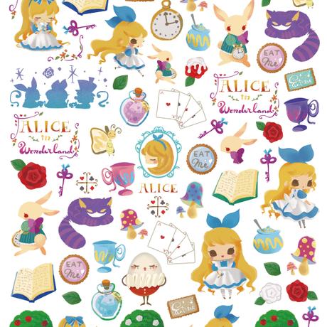 【ルリモコ転写紙】童話シリーズ  2『リトルマーメイド』A4サイズ