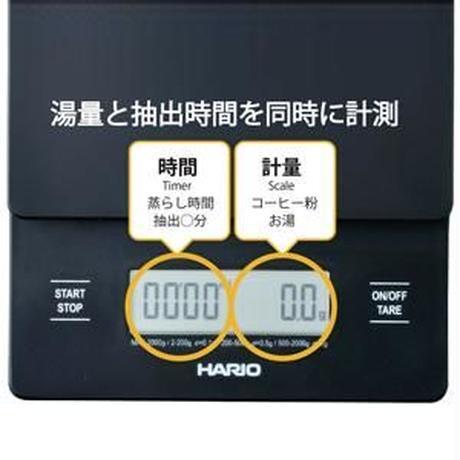 【HARIO】V60 ドリップスケール ブラック