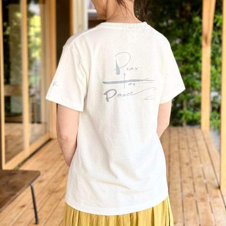 平和を祈るTシャツ ナチュラル