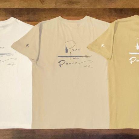 平和を祈るTシャツ ストーン