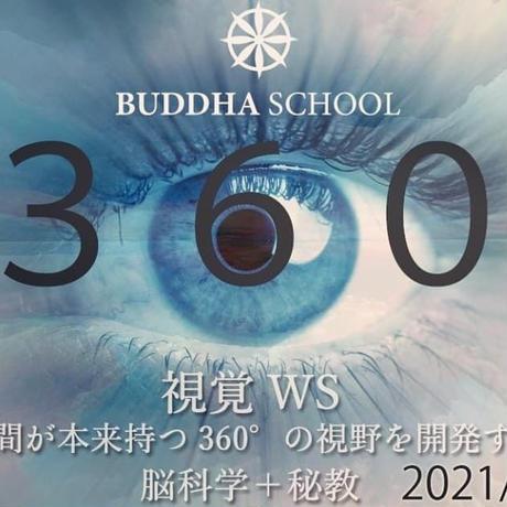 【動画】『360℃視覚ワークショップ』人間が本来持つ360℃の視野を開発する