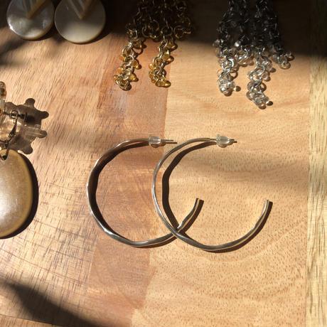 silver_hoop_earring(pierceのみ)