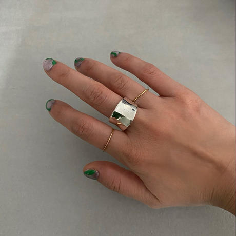 silver Ⅴ ring