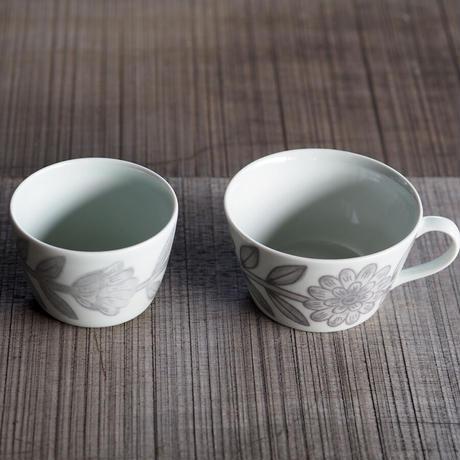 堀江陶器 デイジー カップ&ソーサー