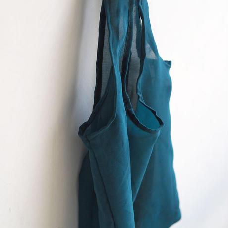 リサイクルサリーのエコバッグ 寒色系 no.4