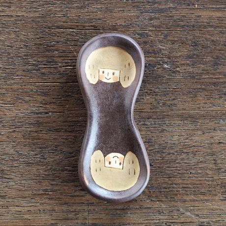 増永 典子 女の子箸置き 2個セット