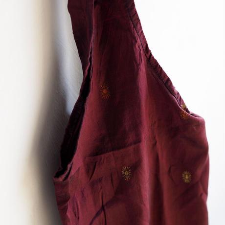 リサイクルサリーのエコバッグ 暖色系 no.4