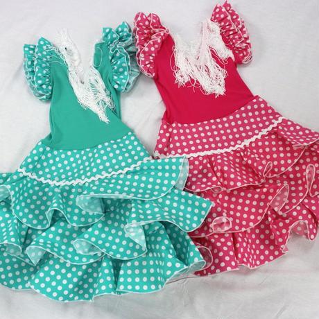 【キッズ 】水玉ドレス