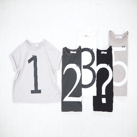 CLOUDY,FINE LATER ナンバー?ドロップTシャツ 522-064020