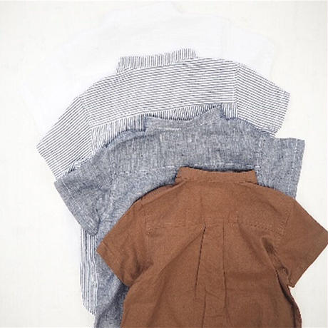 CLOUDY,FINE LATER ヘンリーネックシャツ 522-060032
