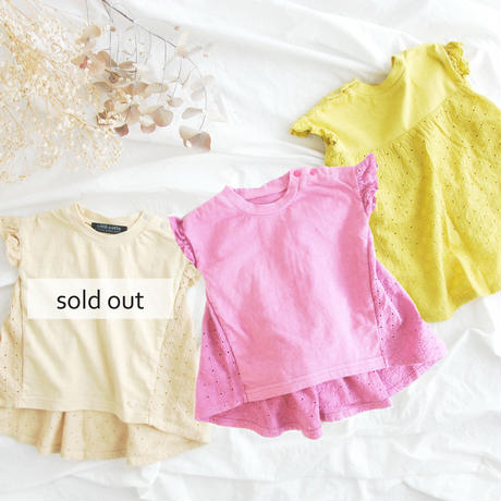 coto cotte バック切り替えTシャツ 722-067238