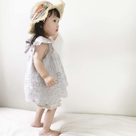 coto cotte 綿レース刺繍チュニック 722-062210