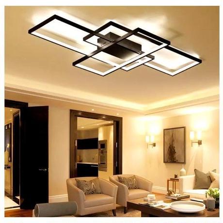 LED シーリングライト 照明器具 間接照明 リビング照明 LED 天井照明 オシャレ ブラック ホワイト